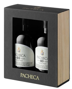 Pacheca Tawny Port 40 Years 2x20 cl
